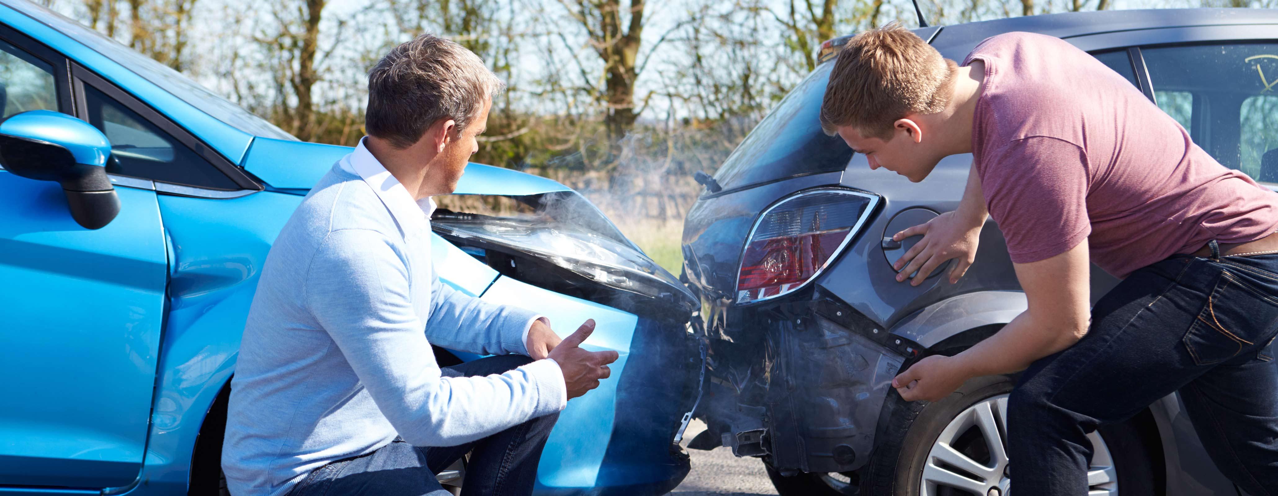 Wat te doen bij een aanrijding  met een WA verzekering?